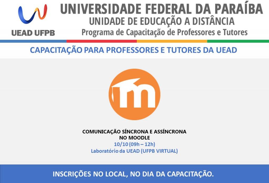 Capacitações UFPB Virtual - OUTUBRO - SA